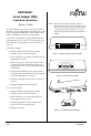 Fujitsu P-600 - Stylistic LT Installation instructions - Page 1
