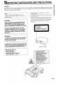 Sharp DV-600S Operation manual - Page 4