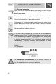 Smeg AS28I96L Instructions for installation and use manual - Page 5