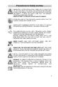 Smeg CIR34AX Manual - Page 3