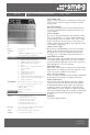 Smeg A31X Information sheet - Page 1
