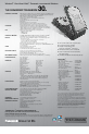Panasonic Toughbook CF-30C3DAZBM Specifications - Page 2