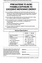 Panasonic NN-L531 Operating instructions manual - Page 2