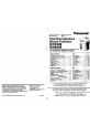 Panasonic NC-EM22P Operating instructions manual - Page 1