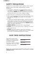 Haier HAPE200 Operation & user's manual - Page 2