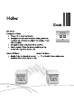 Haier PFC1-BK Operation & user's manual - Page 8