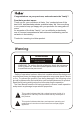 Haier P42A1-AK Owner's manual - Page 2
