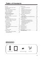 Haier P42A1-AK Owner's manual - Page 5