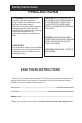 Haier HLC1 Operation & user's manual - Page 4
