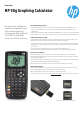 HP 50G Datasheet - Page 1