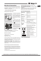 Hotpoint KSO33CX S Operating instructions manual - Page 5