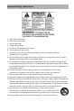 Audiovox CE208BT Operation & user's manual - Page 2