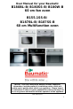 Baumatic B187BL-B Instruction manual - Page 2