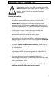 Baumatic B187BL-B Instruction manual - Page 5