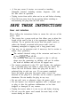 Sunbeam 6220 Operation & user's manual - Page 3
