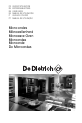 DeDietrich Microwave oven Operation & user's manual - Page 1