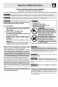 Frigidaire FGF350MXASB Use & care manual - Page 3