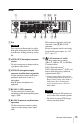 Sony NSR-500 Installation manual - Page 15
