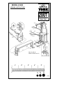 York Fitness 5000 - UK Assembly instruction manual - Page 2