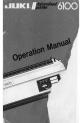 JUKI 6100 Operation manual - Page 1