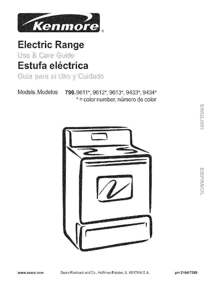 Kenmore 790 Warming Drawer Use  U0026 Care Manual Pdf View  Download
